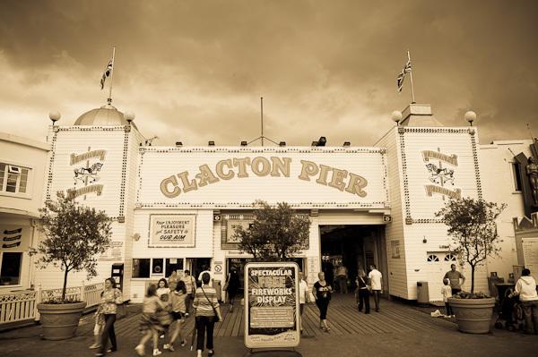 Clacton Pier Entrance