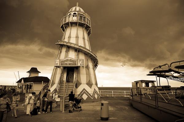 Clacton Pier Slide